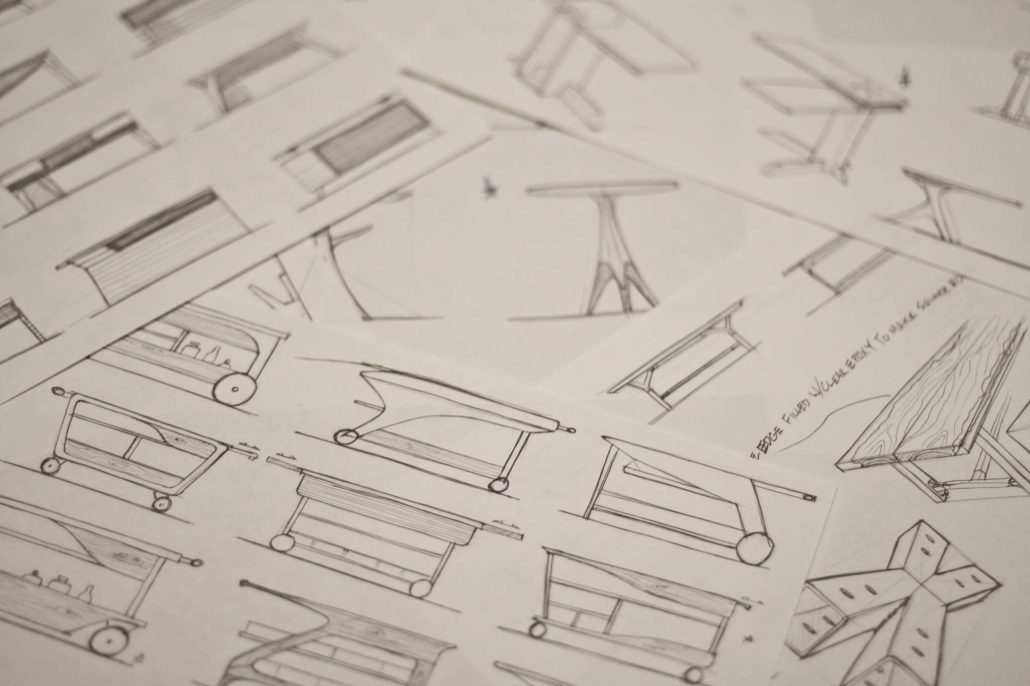 Custom Furniture Design | Black Wolf Design